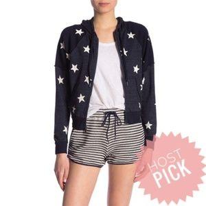 Splendid Star zip Hoodie, Size XS